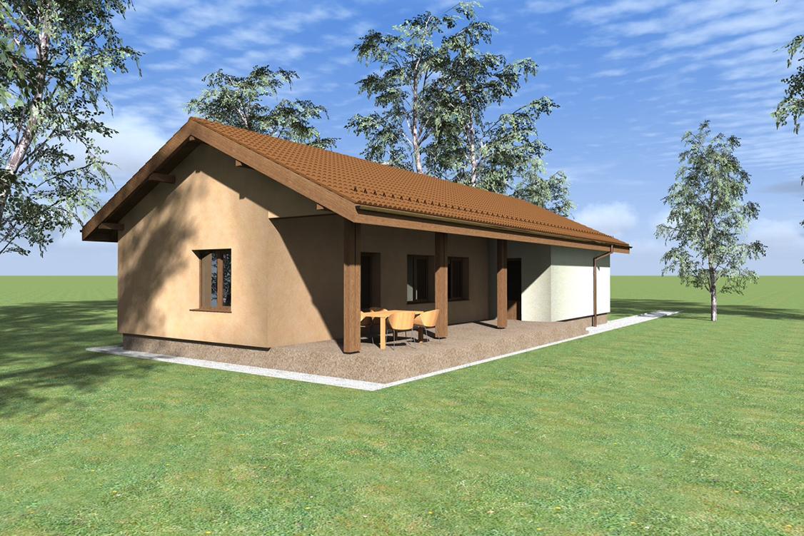 Parvu project casa p 100 mp for Case de 100 mp